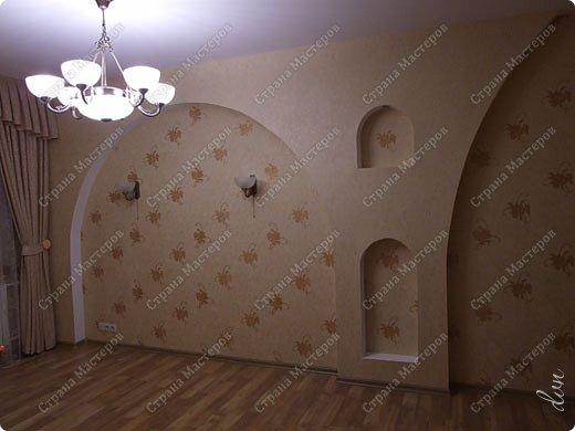 Vasil Dziashkouski hand made. [video:https://www.youtube.com/watch?v=7SE3YSClmgU width:640 height:360 autoplay:1]   И снова работаем с гипсокартоном. Вот такую конструкцию соорудил в зале на стене. фото 36