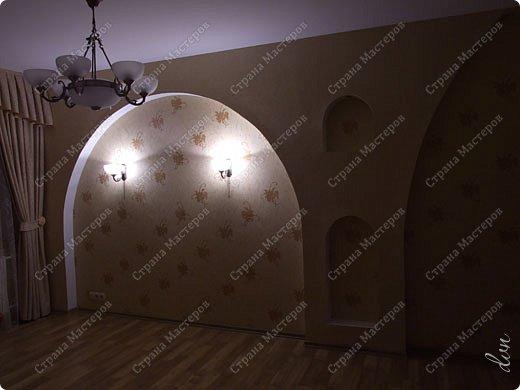 Vasil Dziashkouski hand made. [video:https://www.youtube.com/watch?v=7SE3YSClmgU width:640 height:360 autoplay:1]   И снова работаем с гипсокартоном. Вот такую конструкцию соорудил в зале на стене. фото 37