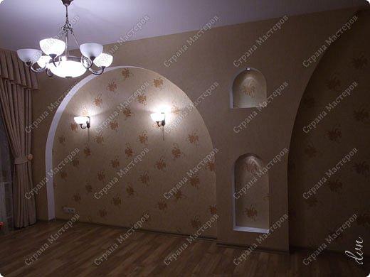 Vasil Dziashkouski hand made. [video:https://www.youtube.com/watch?v=7SE3YSClmgU width:640 height:360 autoplay:1]   И снова работаем с гипсокартоном. Вот такую конструкцию соорудил в зале на стене. фото 40