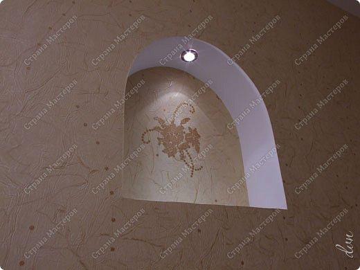 Vasil Dziashkouski hand made. [video:https://www.youtube.com/watch?v=7SE3YSClmgU width:640 height:360 autoplay:1]   И снова работаем с гипсокартоном. Вот такую конструкцию соорудил в зале на стене. фото 41