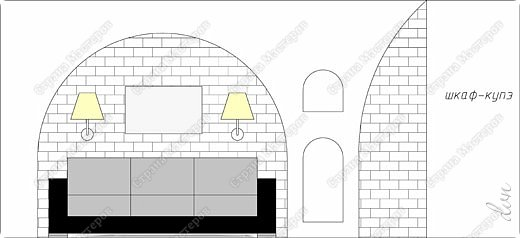 Vasil Dziashkouski hand made. [video:https://www.youtube.com/watch?v=7SE3YSClmgU width:640 height:360 autoplay:1]   И снова работаем с гипсокартоном. Вот такую конструкцию соорудил в зале на стене. фото 2