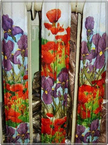 Цветочная поляна на батарее в детской фото 1