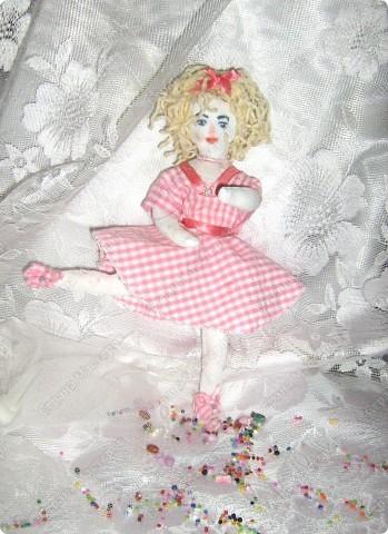 Каникулы!!! Первая куколка в моём исполнении худой комплецкции Мирослава! Внутри проволочный каркас! фото 1