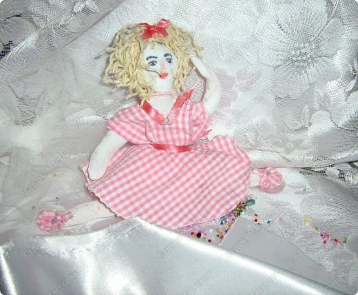 Каникулы!!! Первая куколка в моём исполнении худой комплецкции Мирослава! Внутри проволочный каркас! фото 2