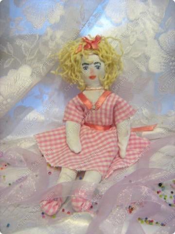 Каникулы!!! Первая куколка в моём исполнении худой комплецкции Мирослава! Внутри проволочный каркас! фото 3
