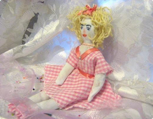 Каникулы!!! Первая куколка в моём исполнении худой комплецкции Мирослава! Внутри проволочный каркас! фото 4