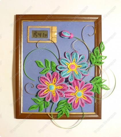 Часики с декоративными цветочками. К моему превеликому счастью наконец в интерьере)) фото 12
