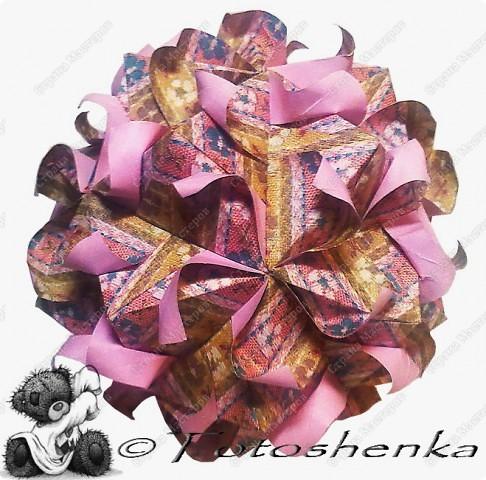 Stella Florica Designer:Lukasheva Ekaterina Created 2010 Parts: 30 Paper's size : 7.5*7.5 Joined with :glue Final height:~16см Эта моделька замечательного автора Екатерины Лукашевой, так же как и многие другие фото 4