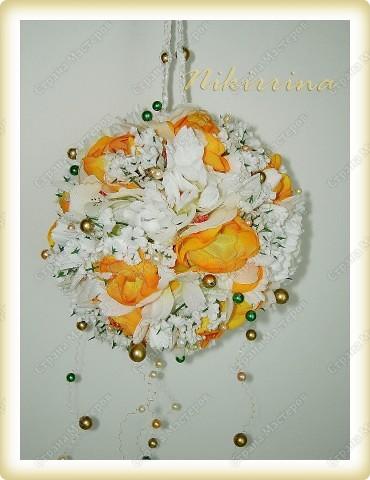 Цветочный шар №2 фото 1