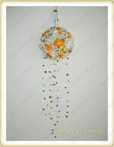 Цветочный шар №2 фото 2