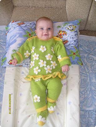 Костюм на весну для любимой малышки фото 1