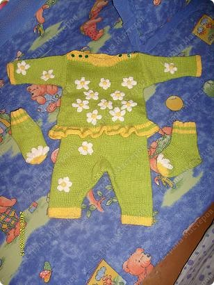 Костюм на весну для любимой малышки фото 2