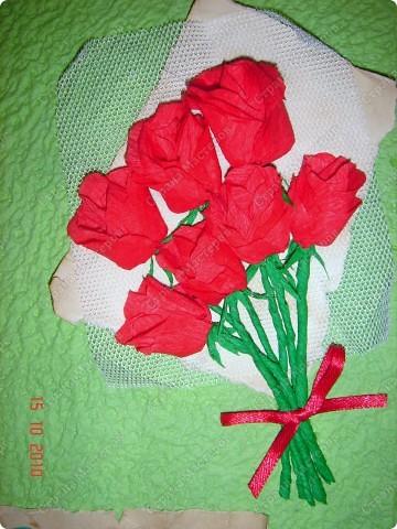 Открытка для мамы в день рождения. фото 3