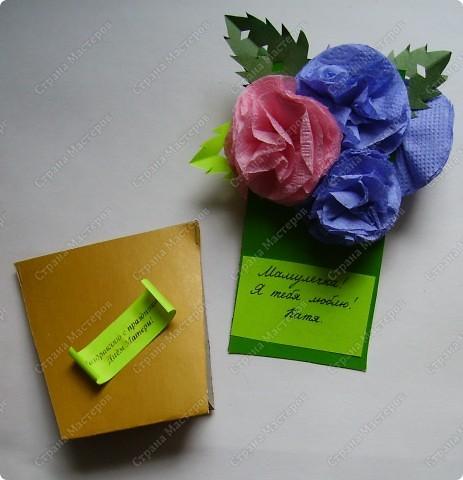 Яркие получились и горшочки, и цветочки. Пусть порадуют многоцветьем наших мам ! фото 3
