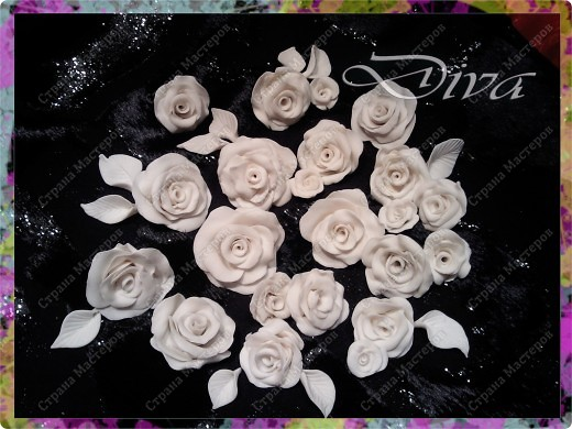 Просмотрела много работ мастеров, разные есть розы...... хочу поделиться как я делаю свои фото 11