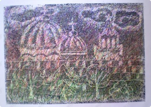 Рисование ластиком. Тонируется лист простым карандашом, затем ластиком вырисовывается рисунок. Работа выполнена ребенком 7-ми лет. фото 2