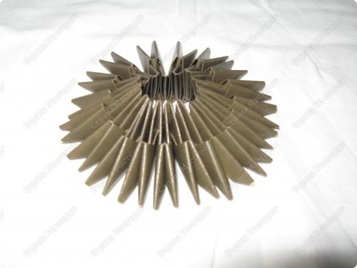Это мой первый МК, идея взята из одной японской или китайской книги по оригами. фото 3