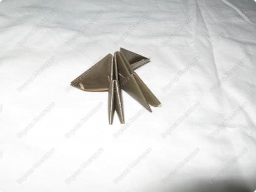 Это мой первый МК, идея взята из одной японской или китайской книги по оригами. фото 2