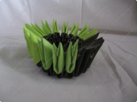 Это мой первый МК, идея взята из одной японской или китайской книги по оригами. фото 6