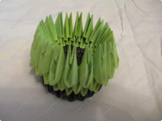 Это мой первый МК, идея взята из одной японской или китайской книги по оригами. фото 7