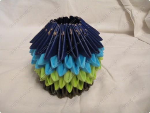 Это мой первый МК, идея взята из одной японской или китайской книги по оригами. фото 9