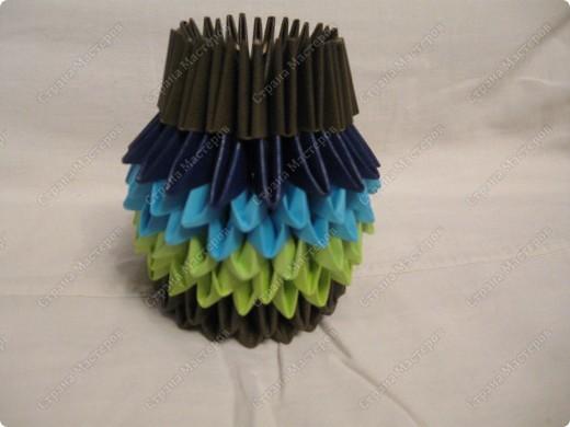 Это мой первый МК, идея взята из одной японской или китайской книги по оригами. фото 11