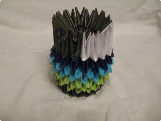 Это мой первый МК, идея взята из одной японской или китайской книги по оригами. фото 12