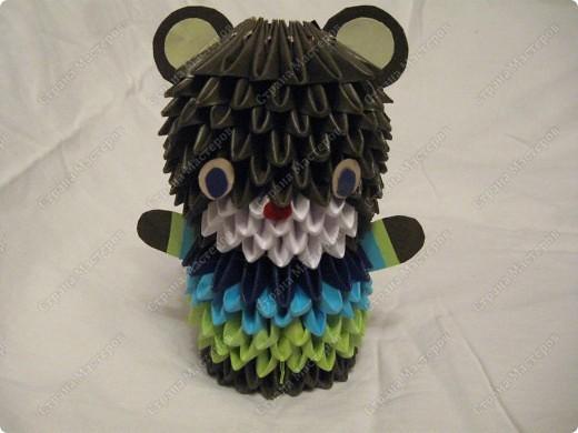 Это мой первый МК, идея взята из одной японской или китайской книги по оригами. фото 1