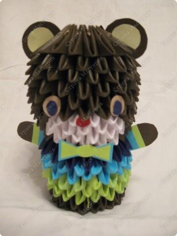 Это мой первый МК, идея взята из одной японской или китайской книги по оригами. фото 16