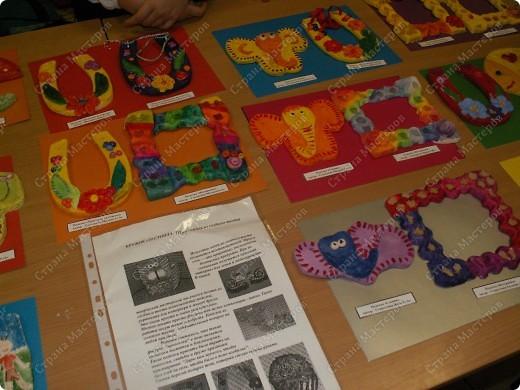 """Сегодня впервые прошла выставка детских работ кружка """"Тестопластика"""" в нашей школе. У нас дебют. фото 4"""