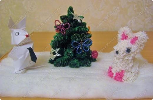 Новый год у зайцев фото 1