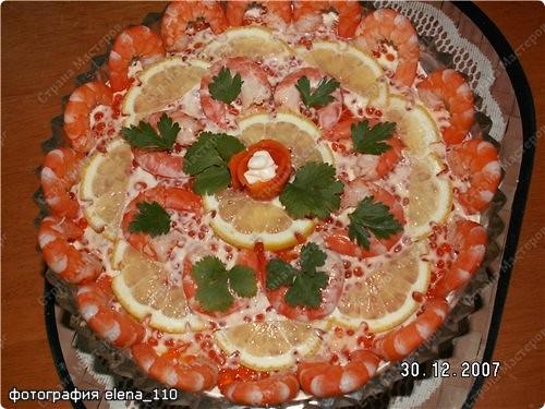 Так я впервые оформила этот салат. фото 1