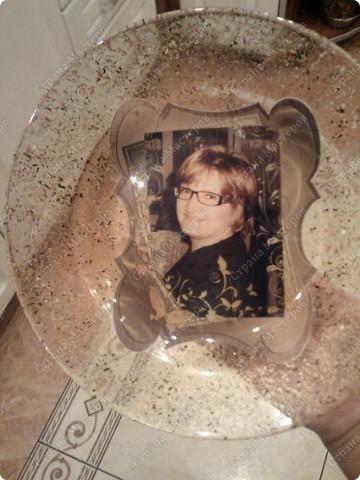 Делала тарелку на заказ, заодно решила все зафиксировать и поделиться с вами ))) фото 6