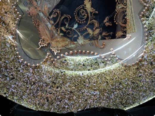 Делала тарелку на заказ, заодно решила все зафиксировать и поделиться с вами ))) фото 11