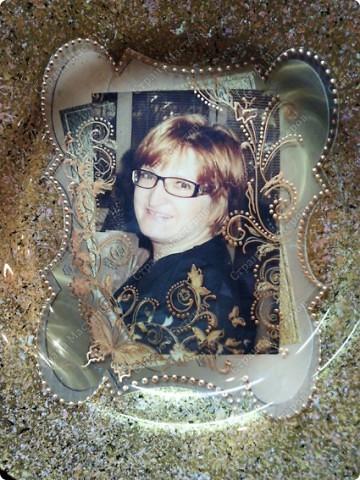 Делала тарелку на заказ, заодно решила все зафиксировать и поделиться с вами ))) фото 9