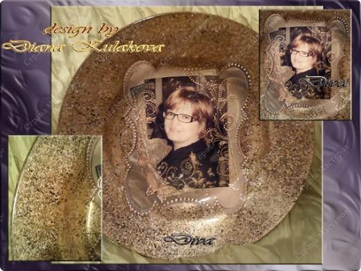 Делала тарелку на заказ, заодно решила все зафиксировать и поделиться с вами ))) фото 13