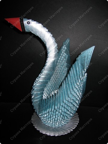 Лебедь в подарок фото 2
