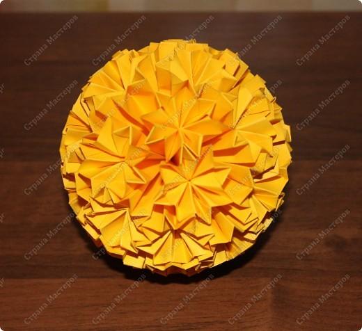 Цветочная кусудама. фото 2
