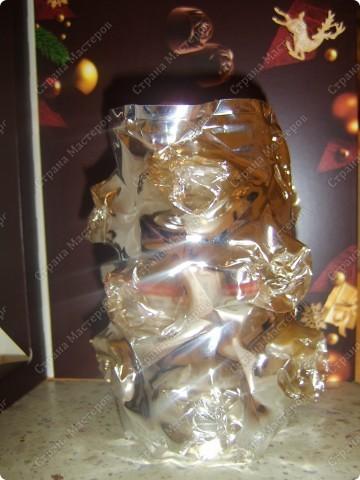 Ваза или подсвечник из под конфетной формы фото 11