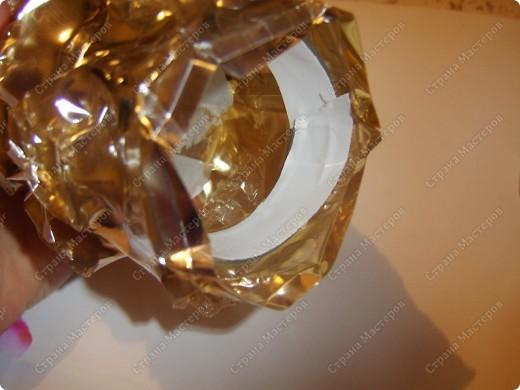 Ваза или подсвечник из под конфетной формы фото 10