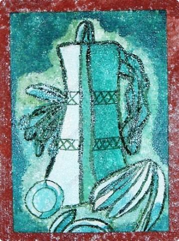 """Работы учащихся объединения """"Юный художник"""", выполненные на выставку к дню матери. Хилтухинова Алтана, 13 лет """"Букет для мамы"""" фото 11"""