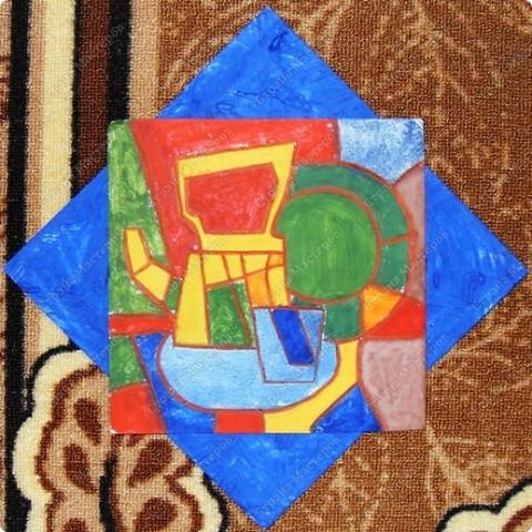 """Работы учащихся объединения """"Юный художник"""", выполненные на выставку к дню матери. Хилтухинова Алтана, 13 лет """"Букет для мамы"""" фото 8"""