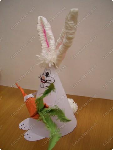 Заяц из конуса фото 2