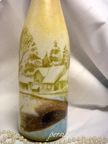 Всем доброго времени суток. Это первая партия новогодних бутылок уже нашла своих хозяев. фото 7