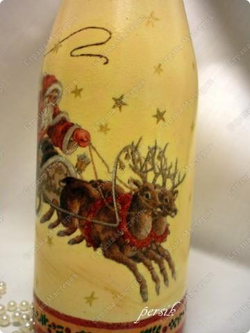 Всем доброго времени суток. Это первая партия новогодних бутылок уже нашла своих хозяев. фото 12