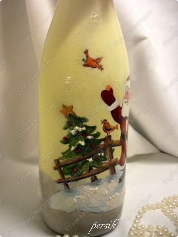 Всем доброго времени суток. Это первая партия новогодних бутылок уже нашла своих хозяев. фото 15