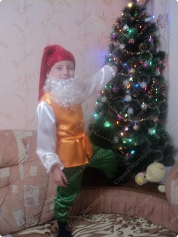 Костюм новогодний Мальвина(парик купила.постригла) все остальное своими руками фото 5