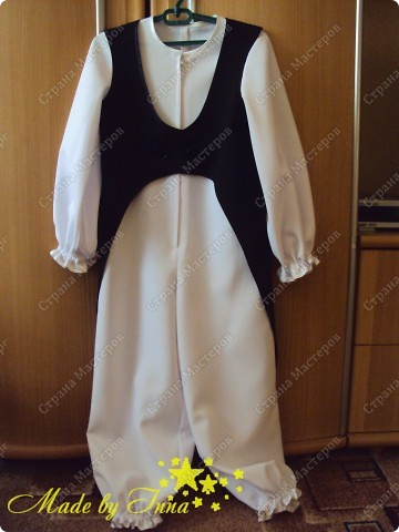 Вот такой костюм пингвина я изобразила для младшего. Хотела выставить раньше, да не было времени. фото 7