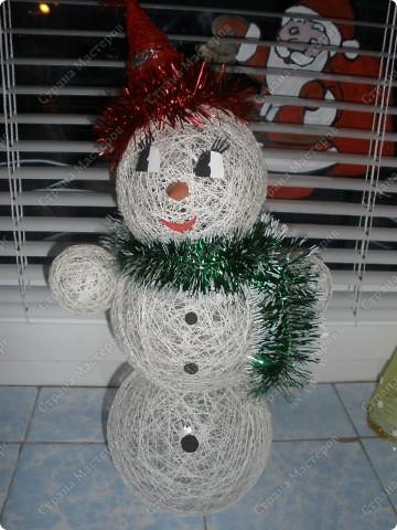 Новогодние  снеговички моей сестры фото 2