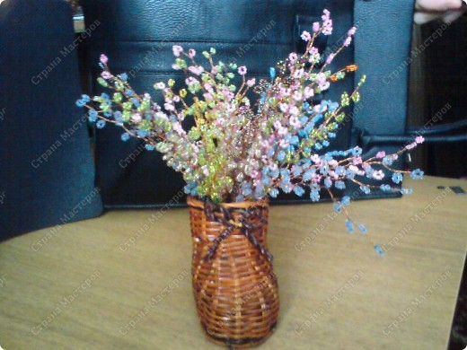 немного моих поделок...любимые цветы фото 3